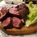 圧倒的塊肉、大阪中崎町(梅田から一駅)にある「オカズtoステーキ」行ってきた