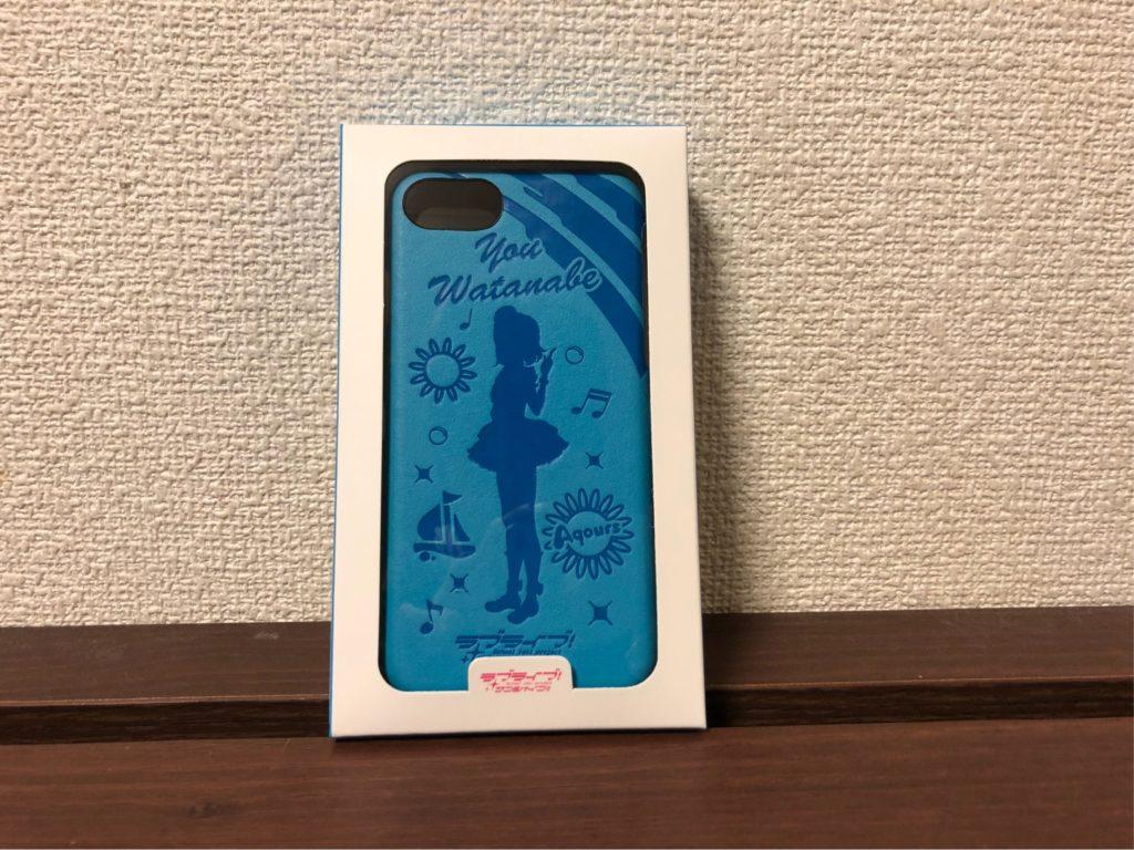 ラブライブ!サンシャイン!! レザーケース for iPhone 7 / 6s / 6 渡辺 曜 ver