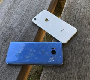 iPhone 8 Galaxy S8