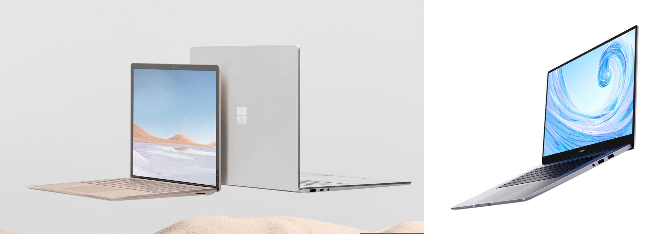 Surface Laptop 3 15 MateBook D 15
