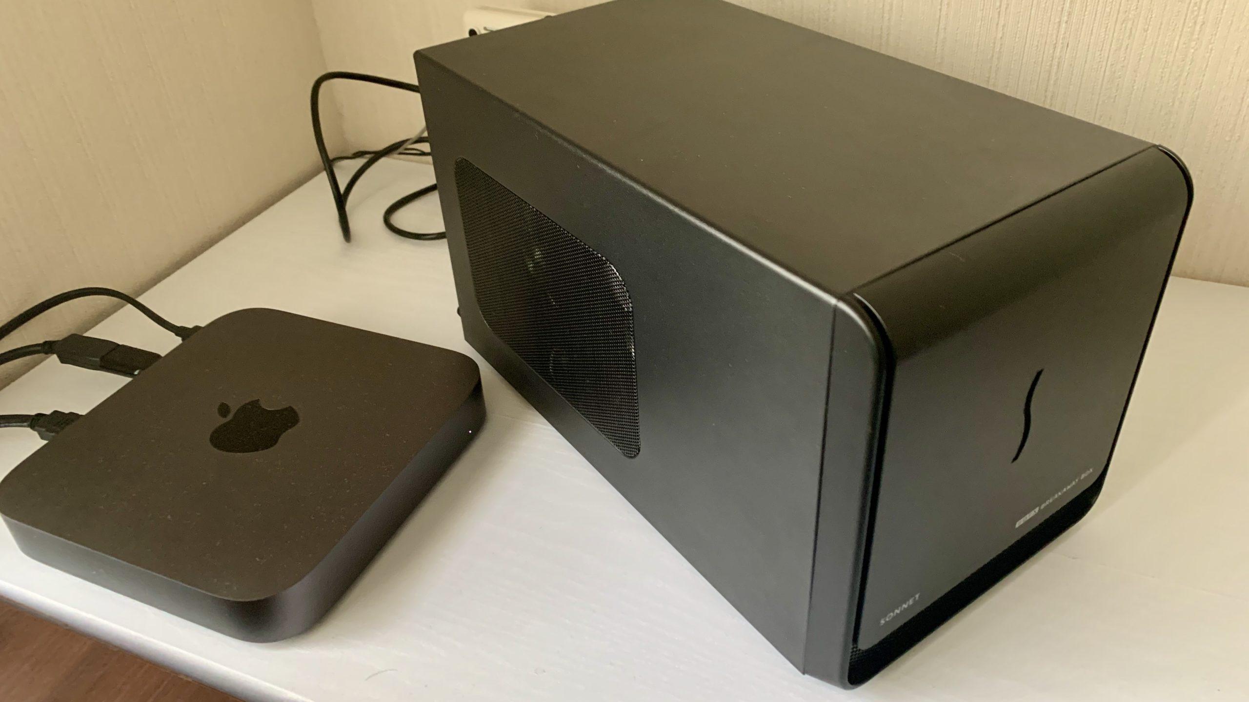 Mac mini eGPU