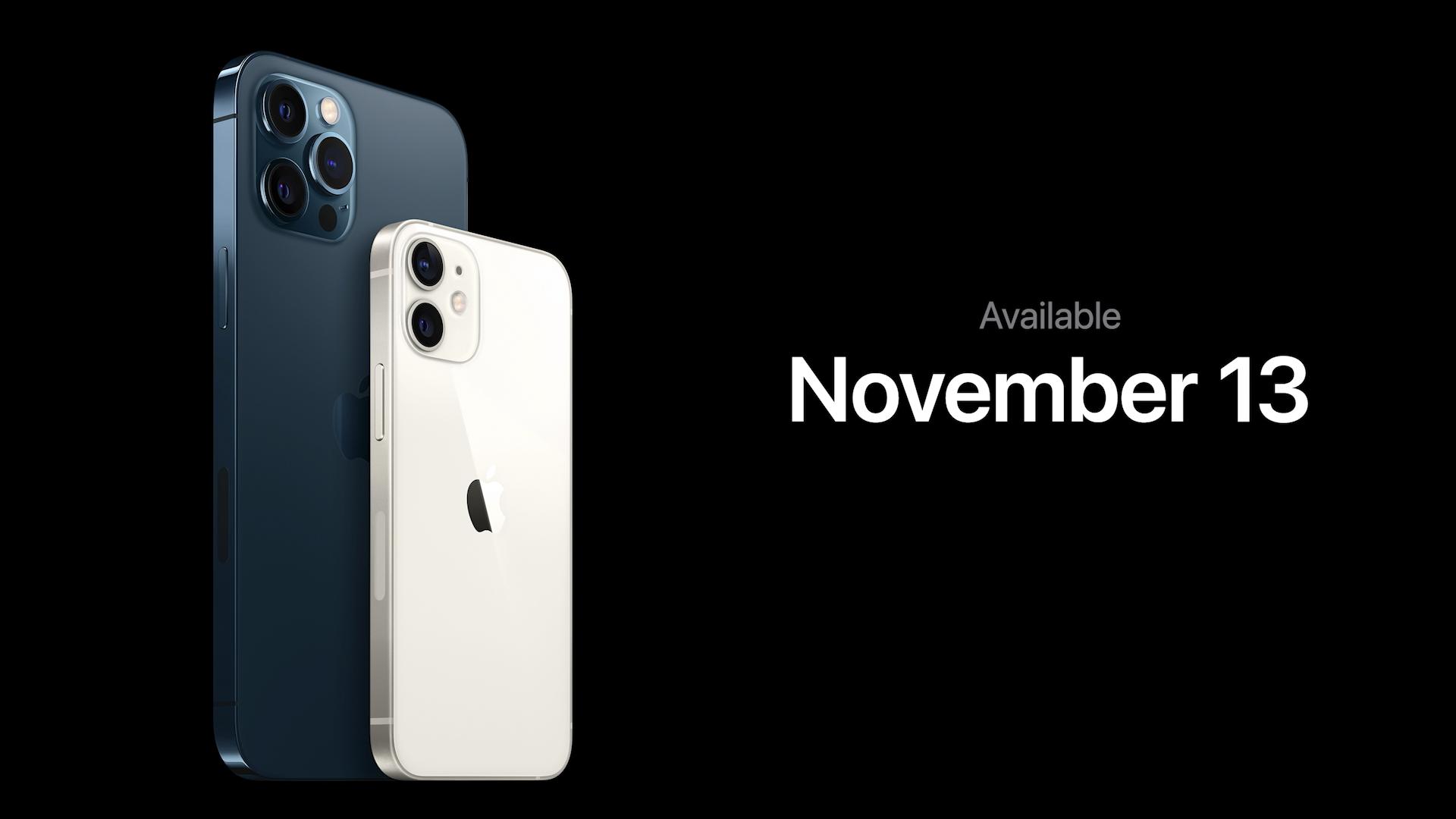 iPhone 12 mini 発売日