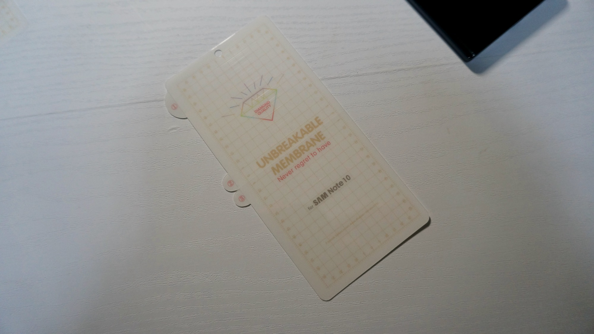 Galaxy Note 10 TPUフィルム