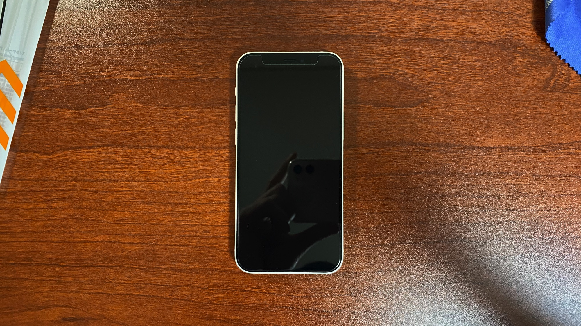 iPhone 12 mini 百均 ガラスフィルム