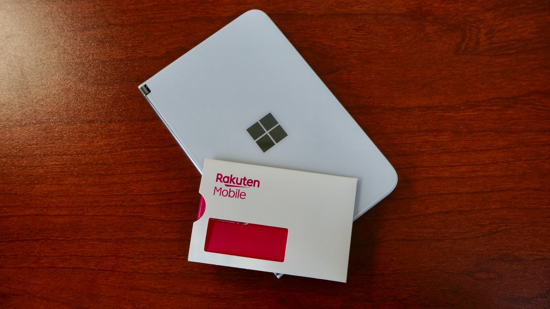 Surface Duo 楽天モバイル